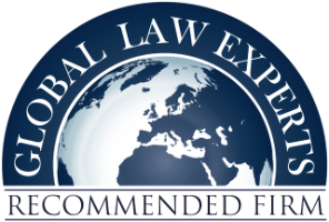 Global Law Experts - Medical law - Recommended Attorney - Auszeichnungen